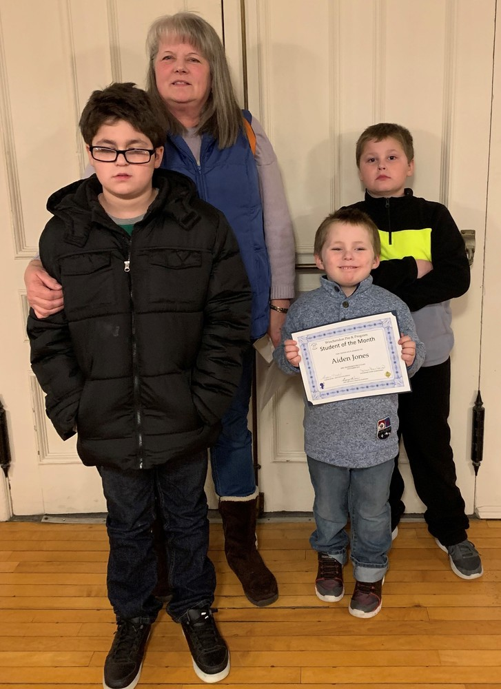 Student of the Month - November 2018