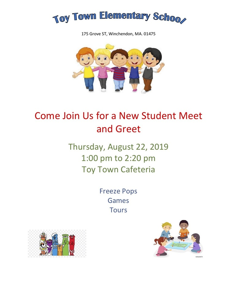New Student Meet and Greet