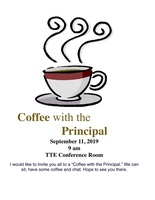 Monthly Coffee with the Principal
