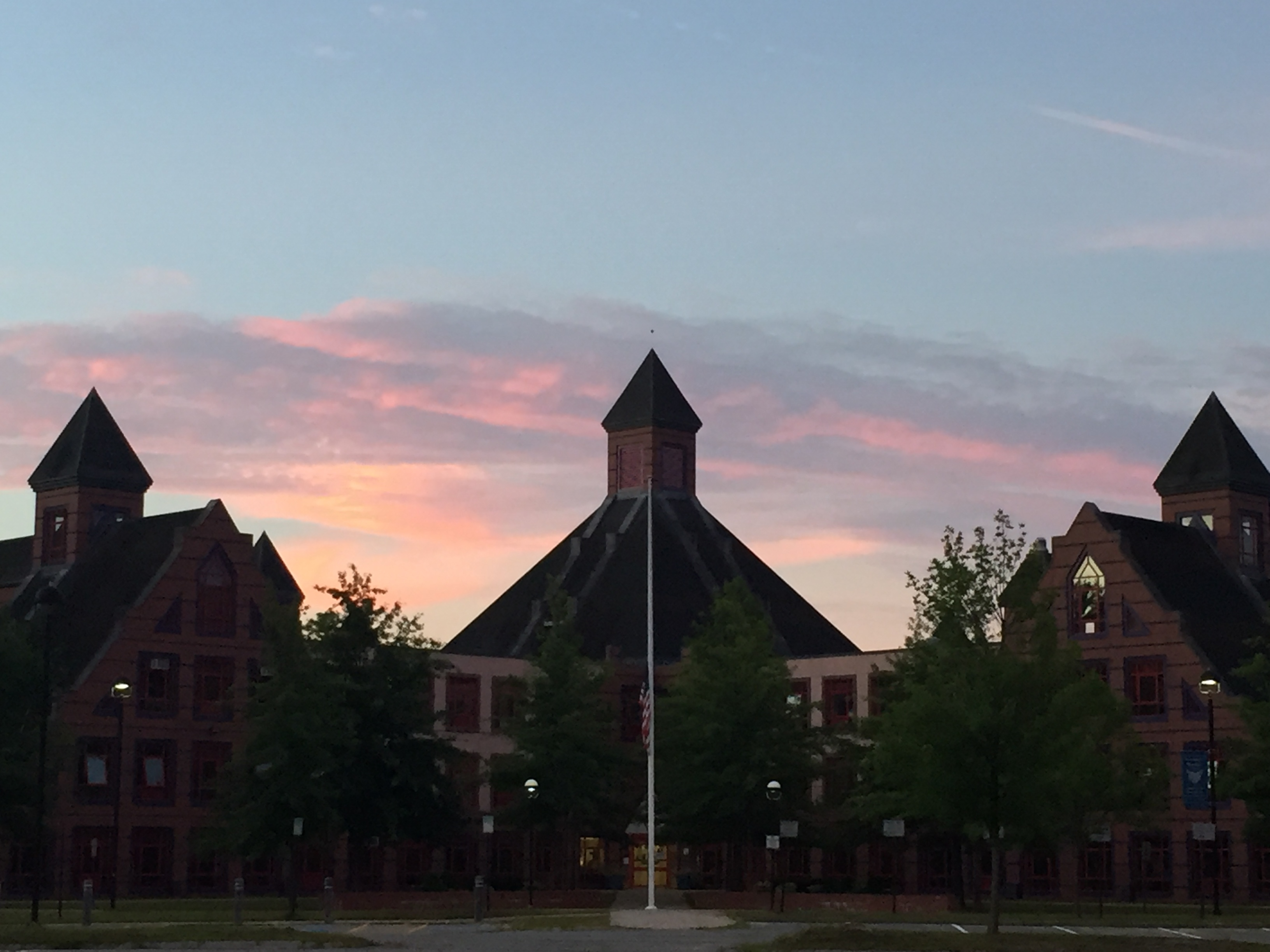 Murdock Building at dawn