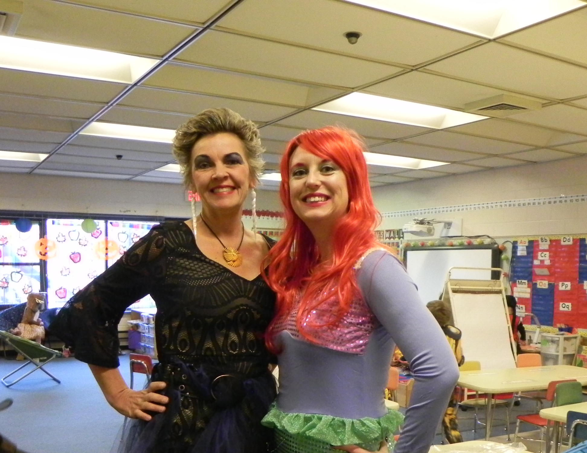 Little Mermaid and Ursula